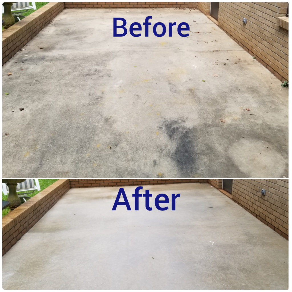 Are you tired of coming to your home or business and seeing dirty concrete? Lancaster is full of concrete driveways & store front. Many are covered in mold, algae, and orange clay. This can even become a walking hazard after a hard rainstorm. Simply Softwash Roof & Exterior Cleaning will deep clean your concrete to a pristine condition.